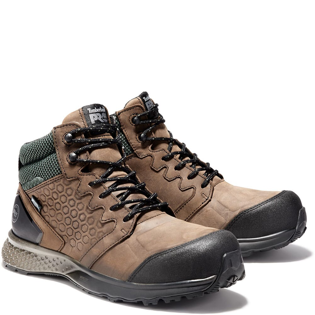 Image for Timberland PRO Men's Reaxion Safety Boots - Brown from bootbay