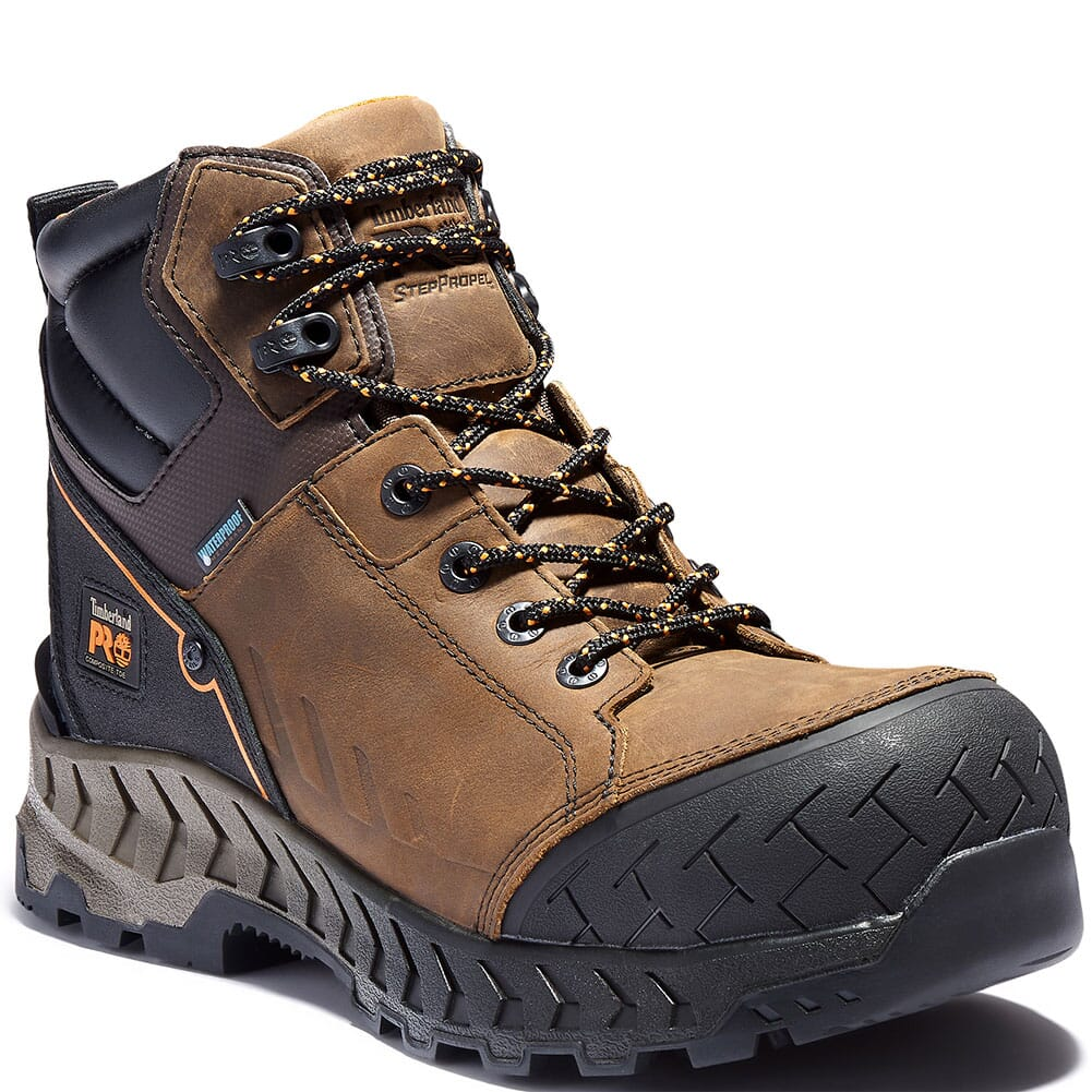 Image for Timberland PRO Men's Summit Safety Boots - Brown from bootbay
