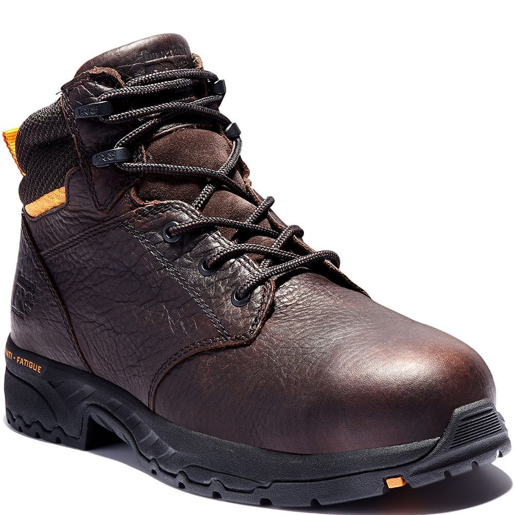 Image for Timberland PRO Men's Band Saw Safety Boots - Brown from bootbay