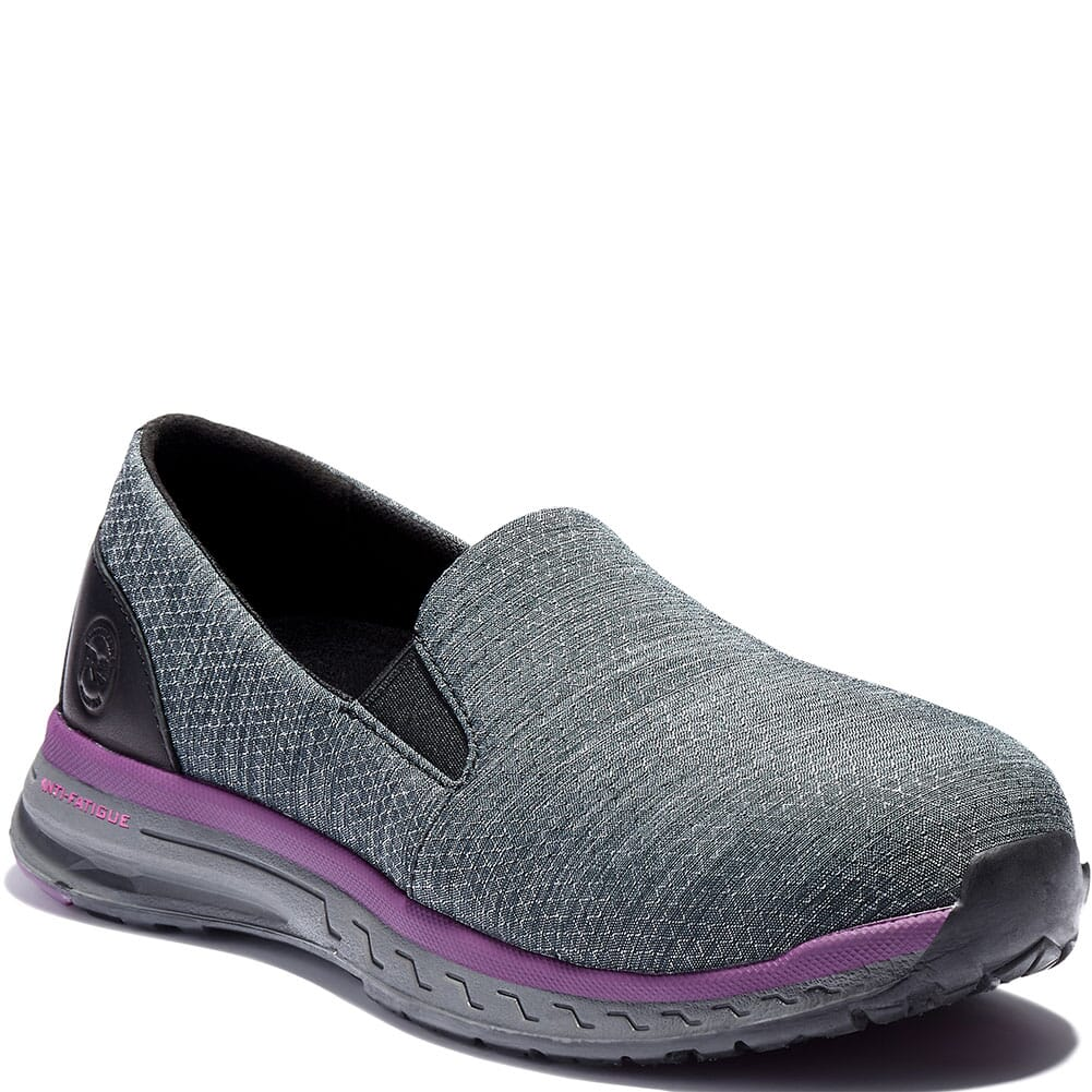 Image for Timberland PRO Women's Drivetrain Slip-On Safety Shoes - Grey from elliottsboots