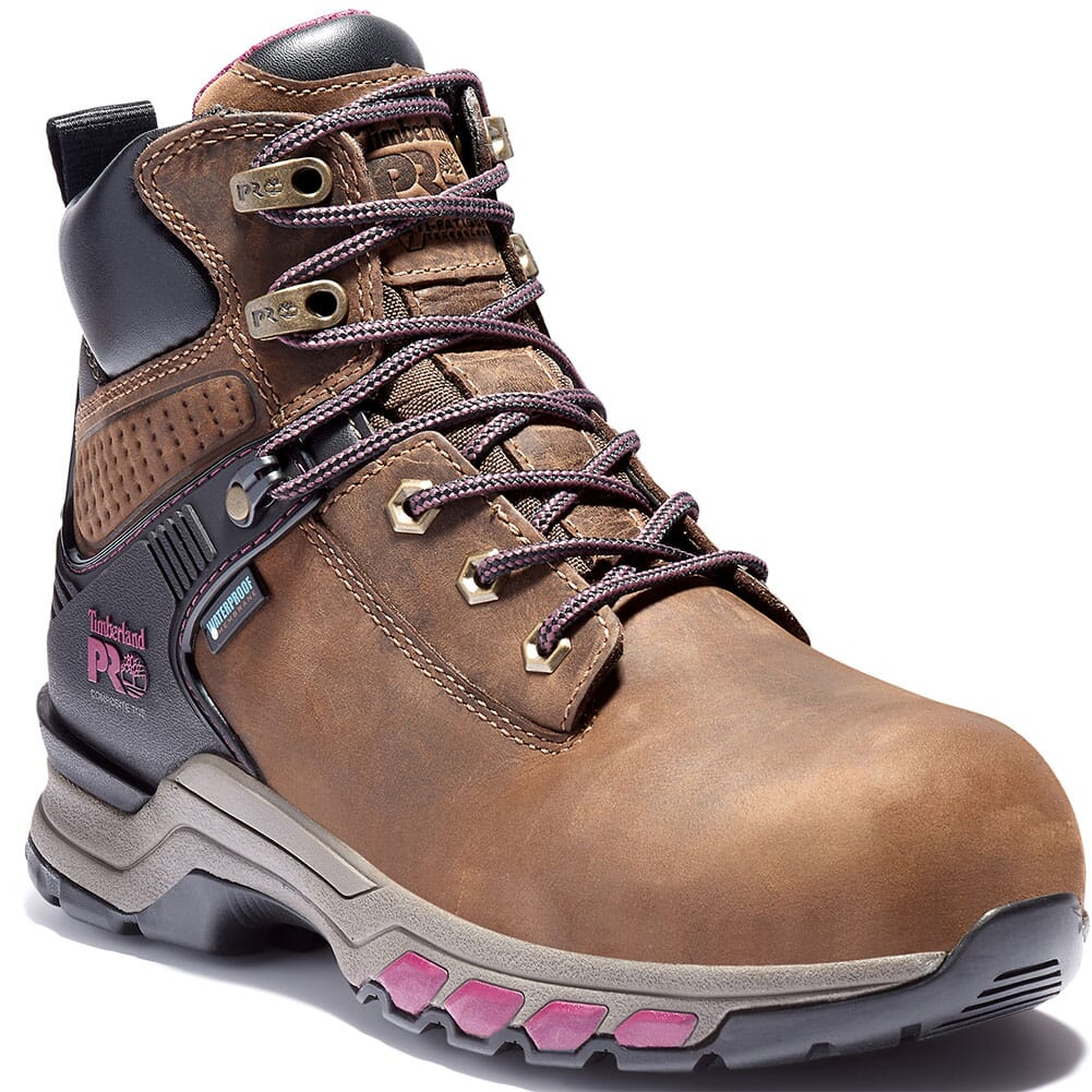 Image for Timberland PRO Women's Hypercharge Safety Boots - Brown from bootbay