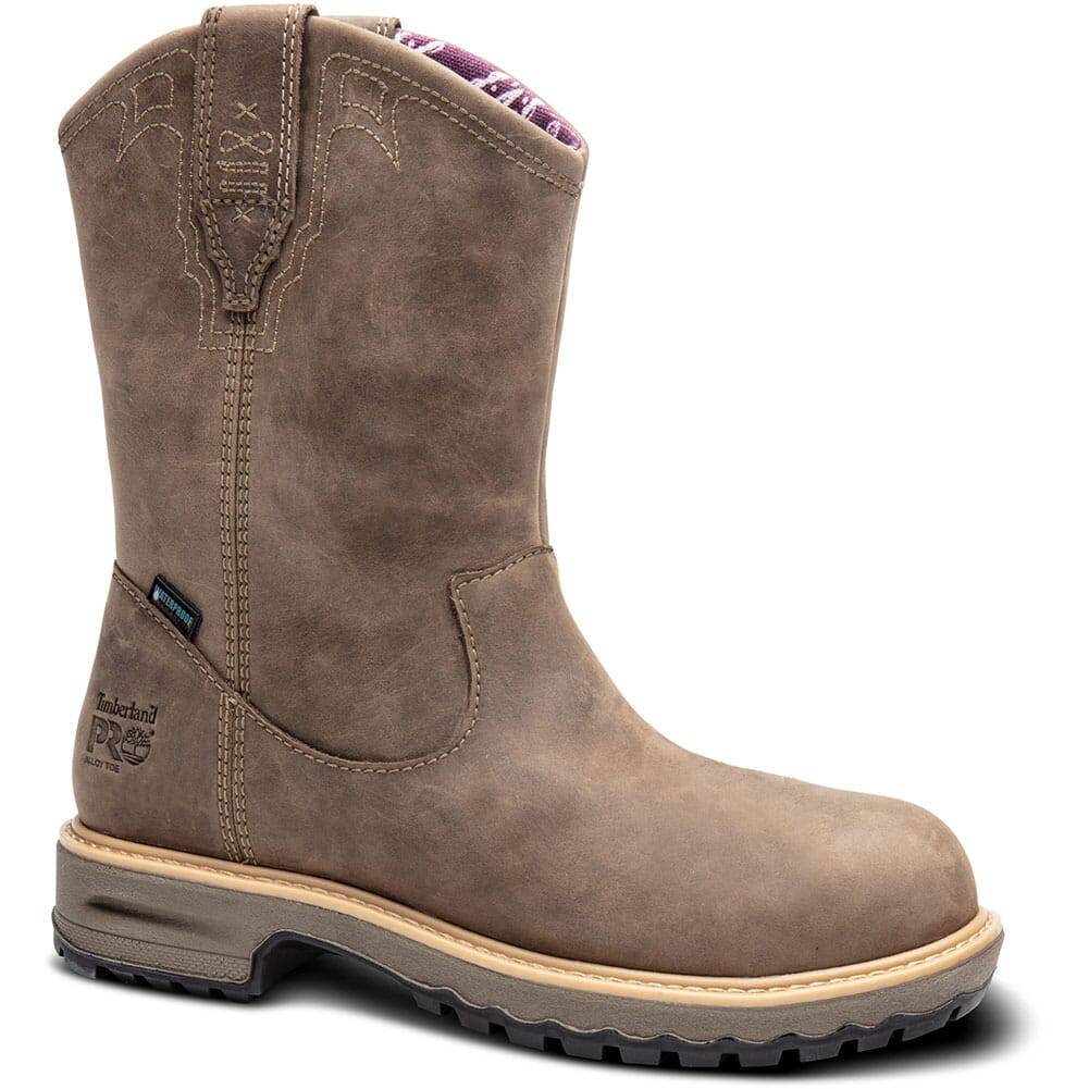 Image for Timberland PRO Women's Ashlar WP Safety Boots - Brown from bootbay