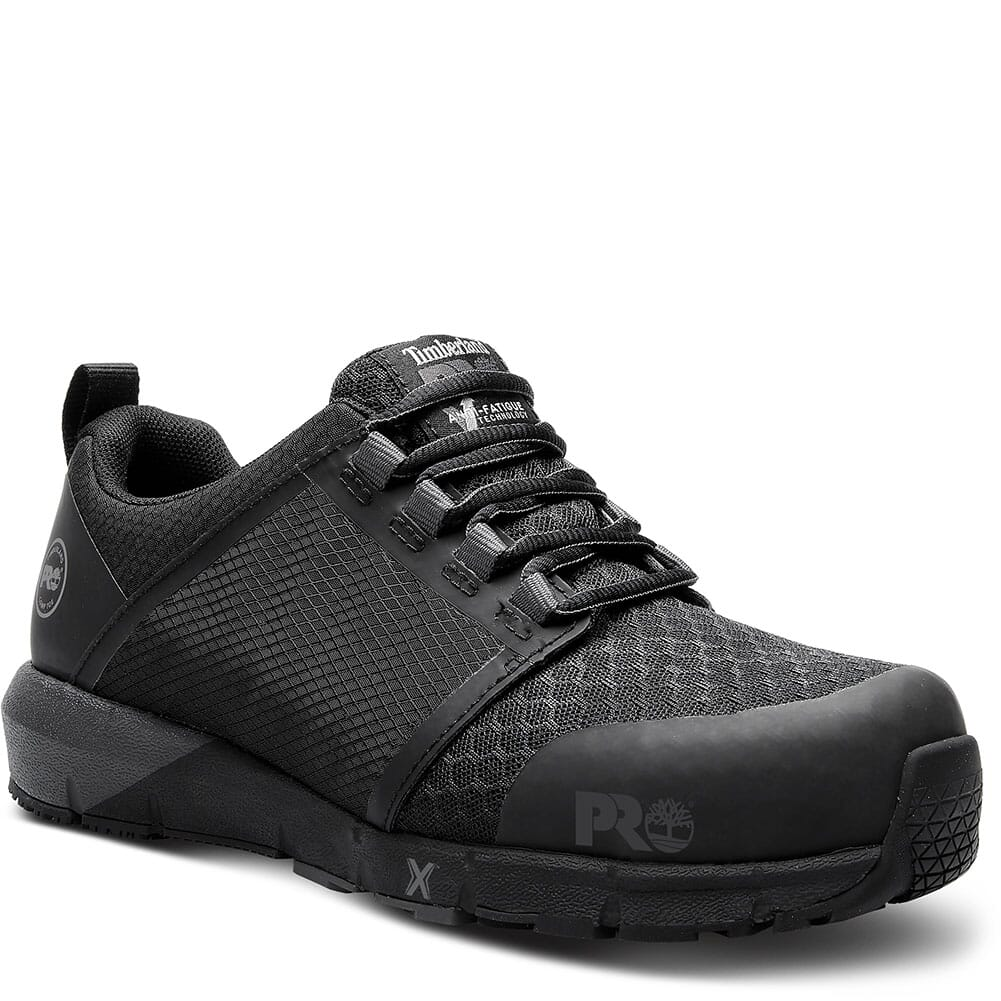 Image for Timberland Pro Women's Radius CT SD Safety Shoes - Black/Grey from bootbay