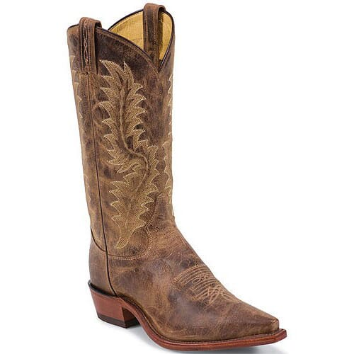 Image for Tony Lama Men's Worn Goat Western Boots - Tan from bootbay