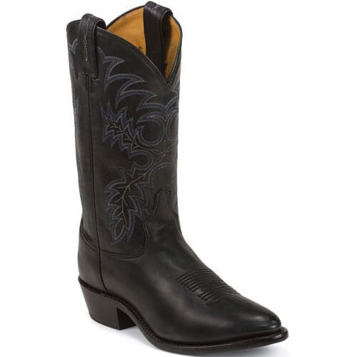Image for Tony Lama Men's Stallion Western Boots - Black from bootbay