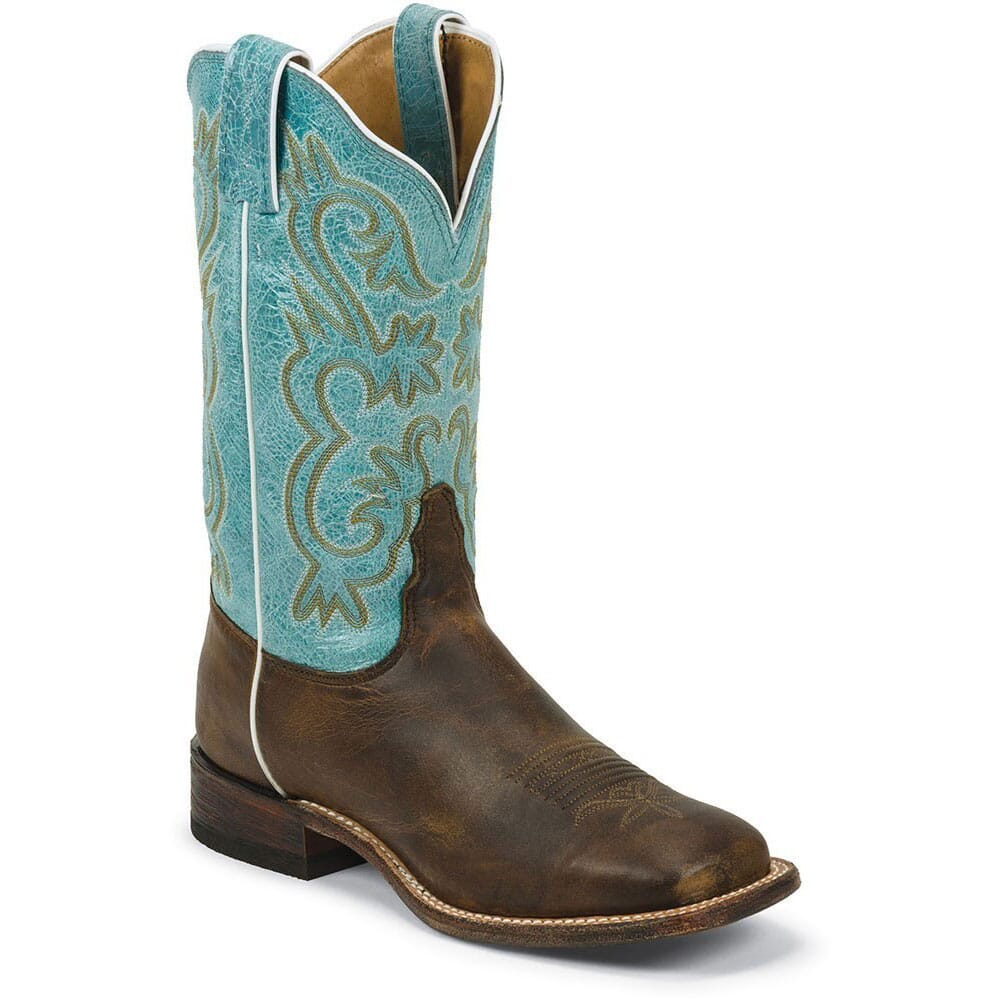 Image for Tony Lama Women's Worn Goat Americana Western Boots - Tan from bootbay