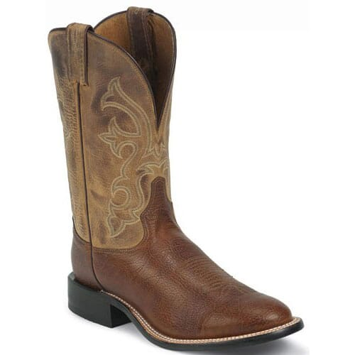 Image for Tony Lama Men's Americana Western Boots - Cognac from bootbay