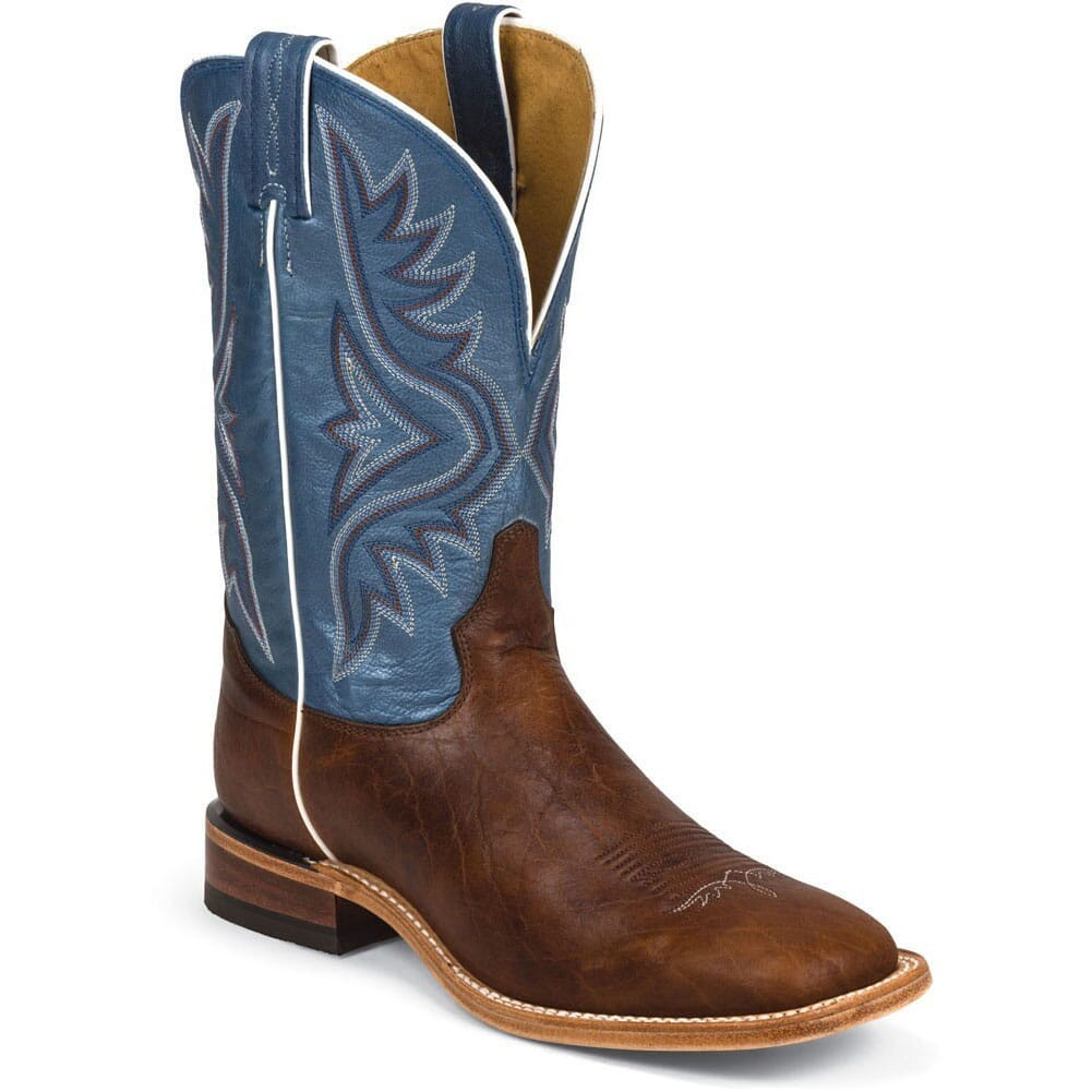 Image for Tony Lama Men's Bison Western Boots - Pecan from bootbay
