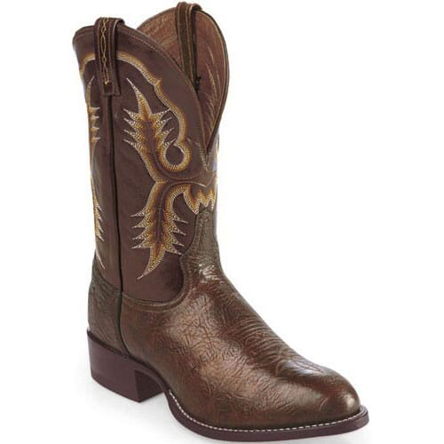 Image for Tony Lama Men's Stockman Western Boots - Chocolate from bootbay