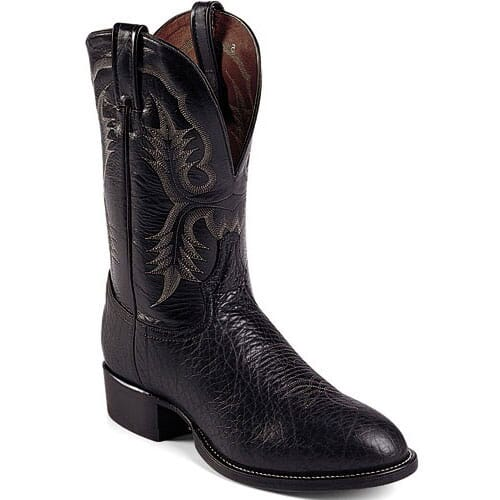 Image for Tony Lama Men's Stockman Western Boots - Black from bootbay