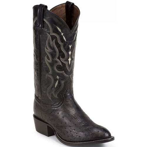 Image for Tony Lama Men's Exotic Western Boots - Black from bootbay
