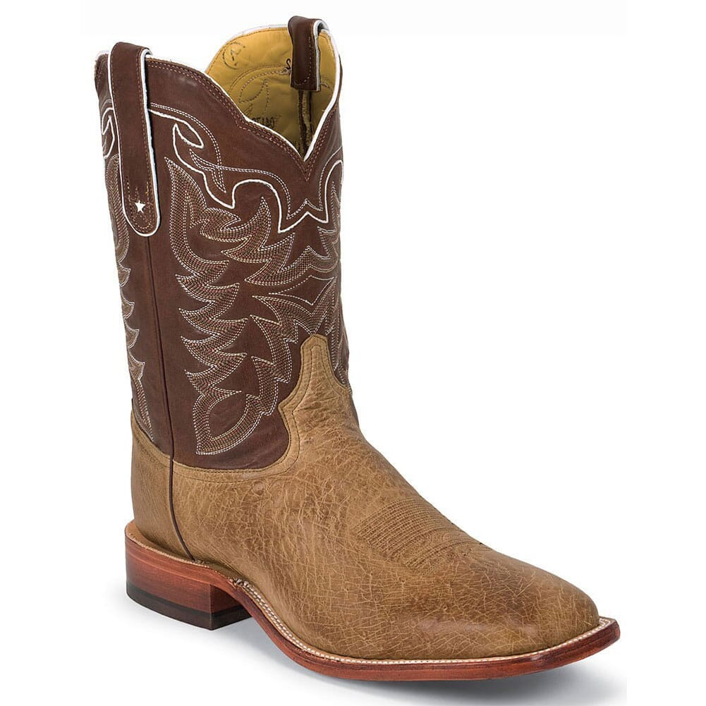 Image for Tony Lama Men's Ostrich Western Boots - Antique Tan from bootbay