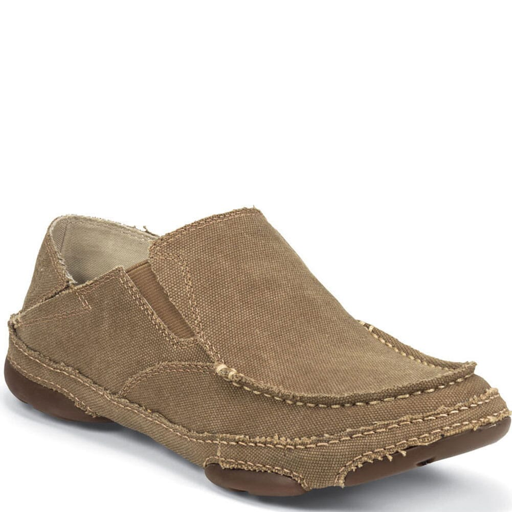 Image for Tony Lama Men's 3R Canvas Twin Gore Casual Shoes - Wheat from bootbay