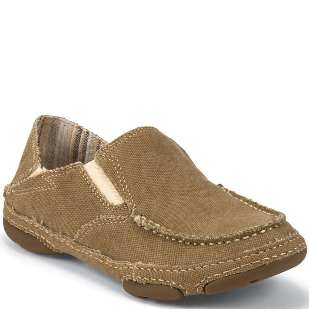 Image for Tony Lama Women's 3R Canvas Casual Shoes - Wheat from bootbay