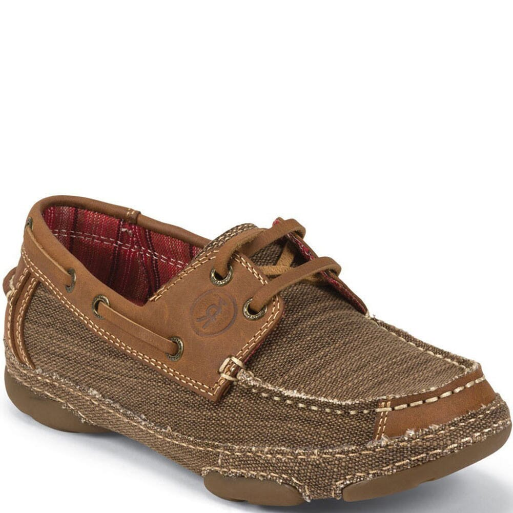 Image for Tony Lama Women's 3R Canvas Casual Shoes - Straw from bootbay