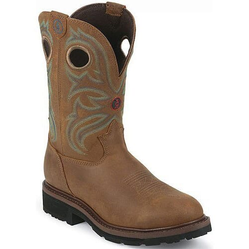 Image for Tony Lama Men's 3R Western Safety Boots - Tan from bootbay