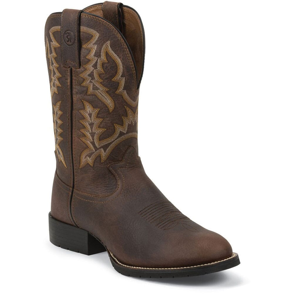 Image for Tony Lama Men's 3R Pitstop Western Boots - Brown from bootbay