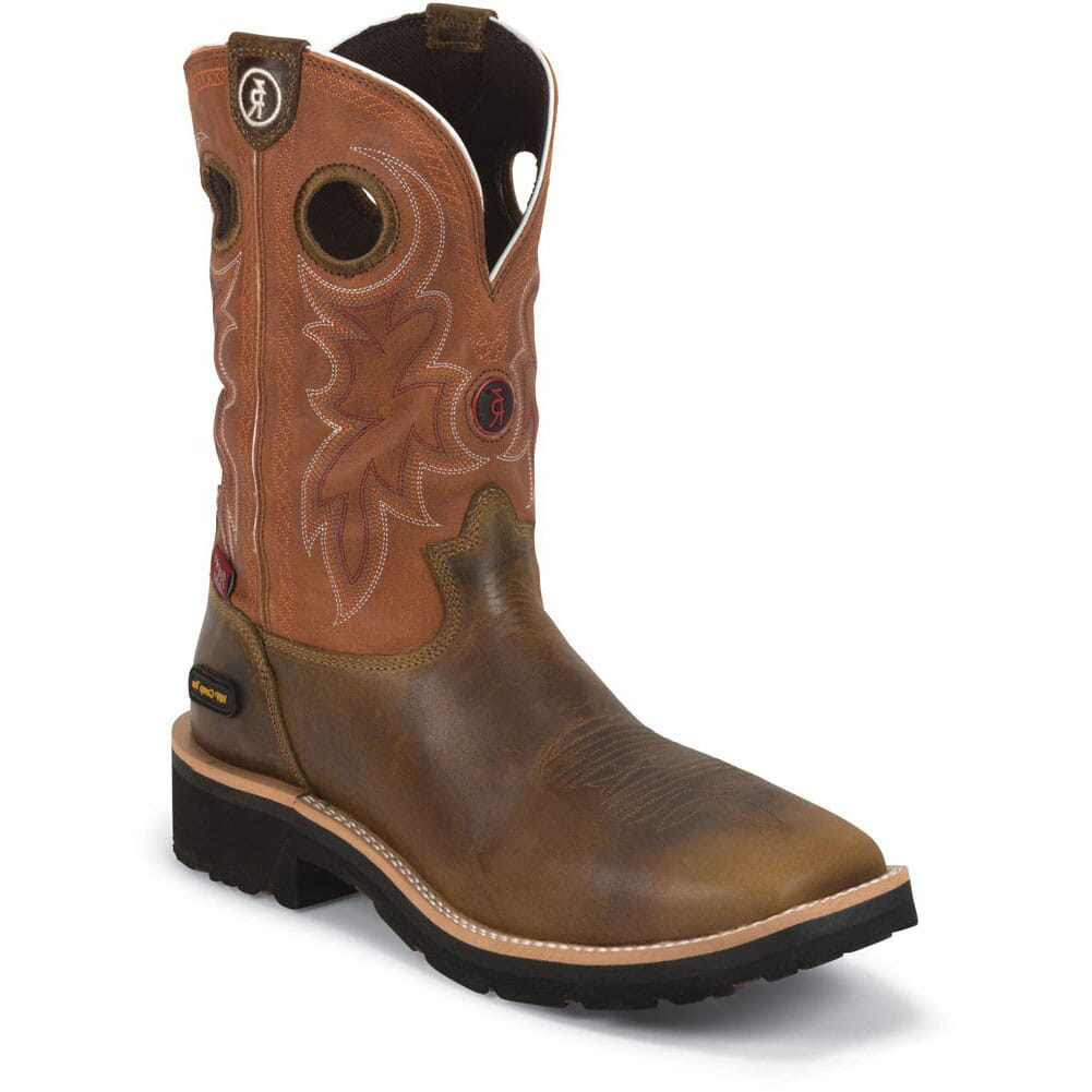 Image for Tony Lama Men's Comanche WP Safety Boots - Tan from bootbay