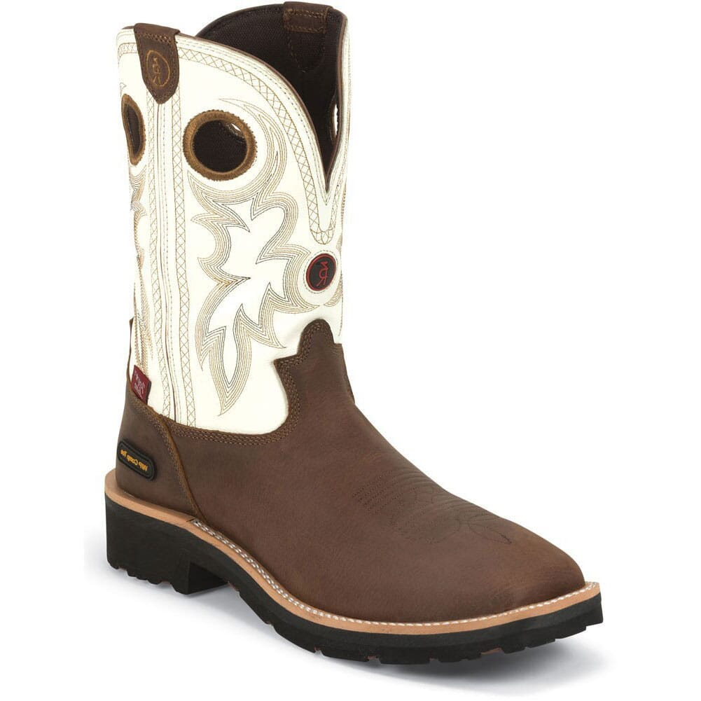 Image for Tony Lama Men's WP CT Safety Boots - Bark Cheyenne from bootbay