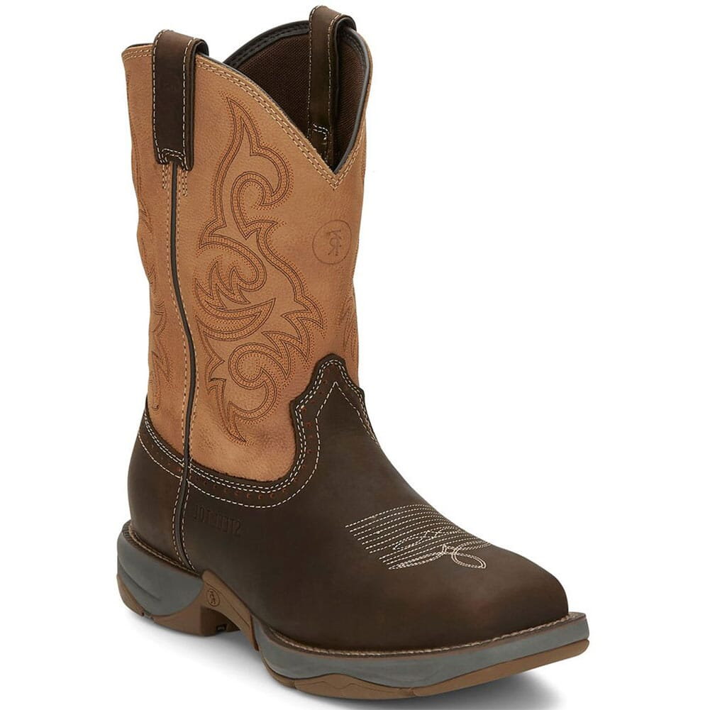 Image for Tony Lama Men's Junction Western Safety Boots - Dusty from bootbay