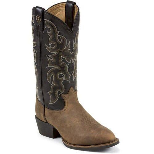Image for Tony Lama Men's 3R Western Boots - Walnut from bootbay