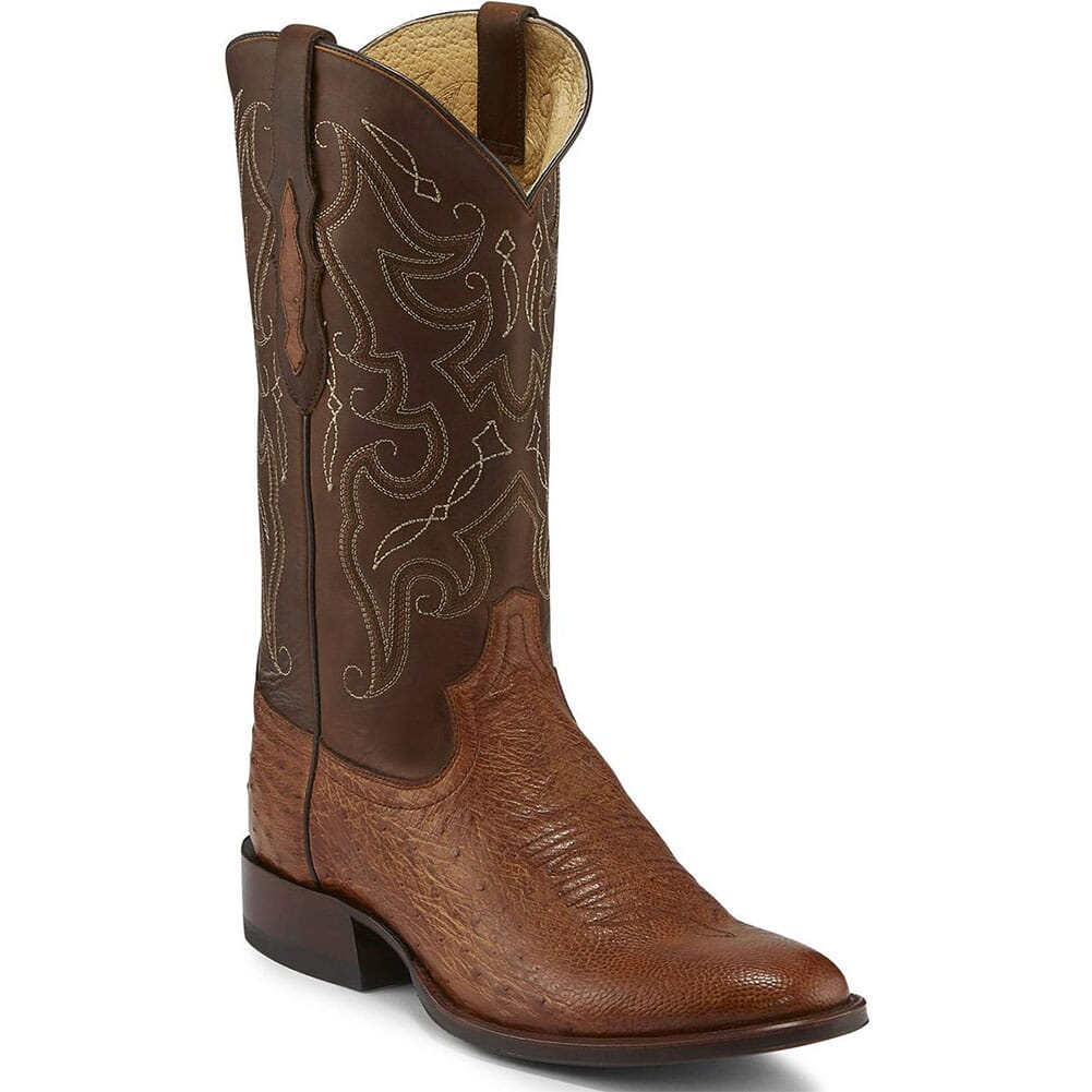 Image for Tony Lama Men's Patron Western Boots - Brown Tundra/Saddle from bootbay