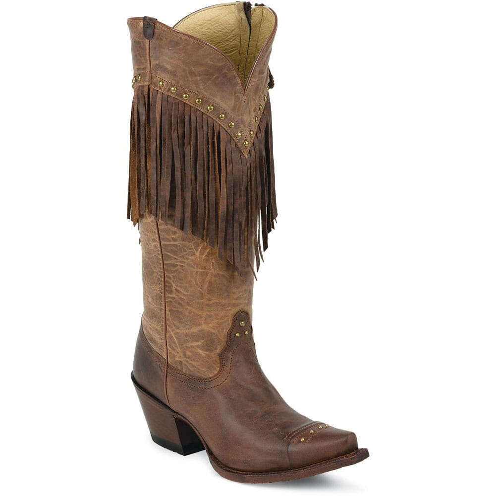 Image for Tony Lama Women's Fringe Western Boots - Mosto Tucson from bootbay