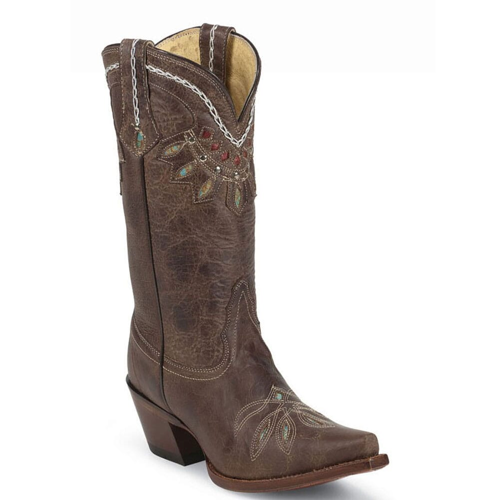Image for Tony Lama Women's Rancho Western Boots - Chocolate from bootbay