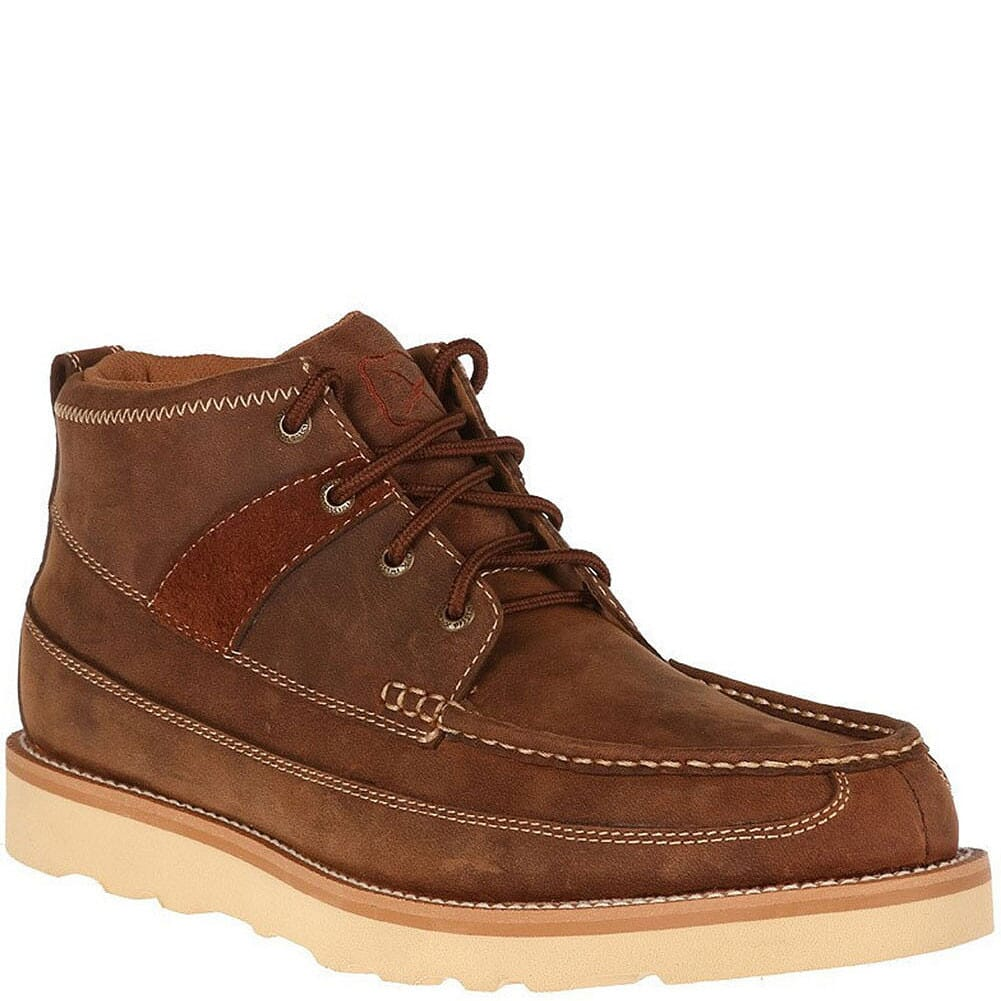 Image for Twisted X Men's Moc Toe Casual Shoes - Oiled Saddle from bootbay