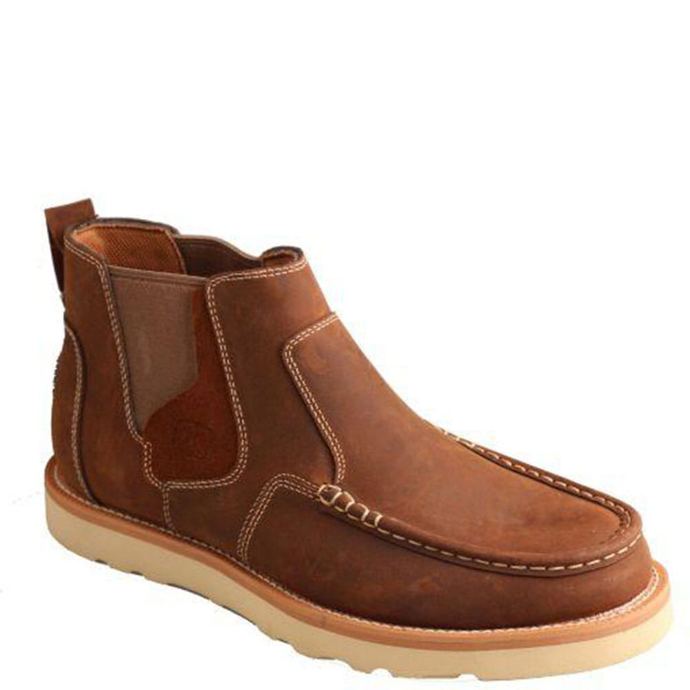 Image for Twisted X Men's Loafer Casual Boots - Oiled Saddle from bootbay