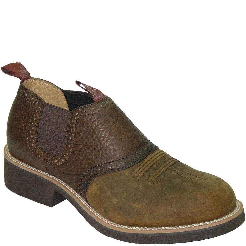 Image for Twisted X Men's Cow Dog Dist. Casual Shoes - Saddle from bootbay