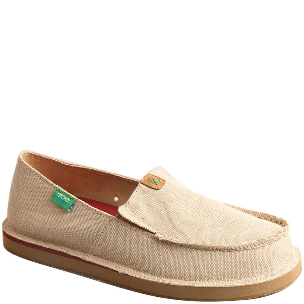 Image for Twisted X Men's ecoTWX Slip On Loafers - Tan from bootbay