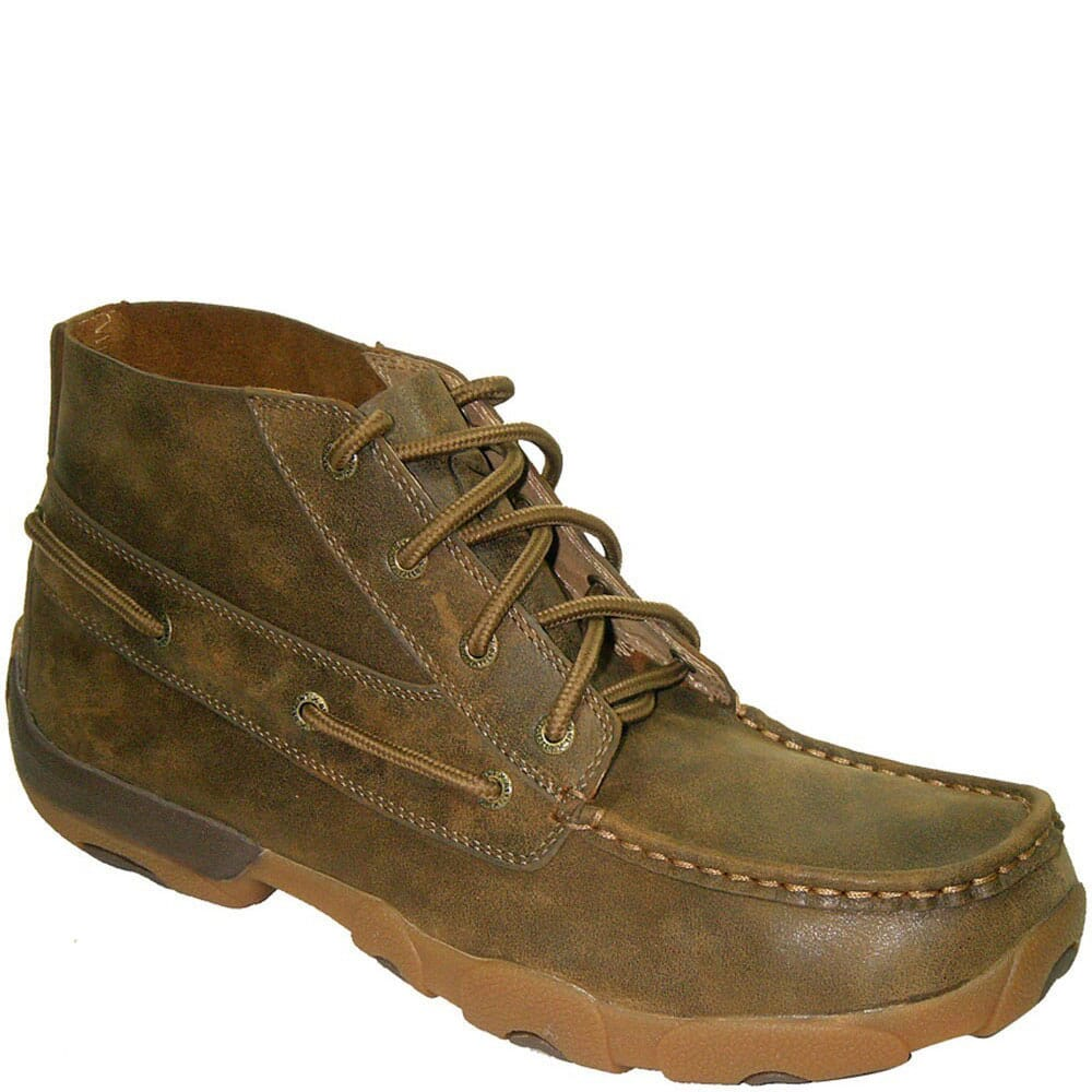 Image for Twisted X Men's Driving Moc Lacer Casual Boots - Bomber from bootbay