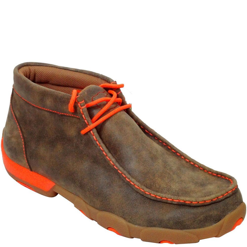Image for Twisted X Men's Driving Moc Casual Chukka - Bomber from bootbay