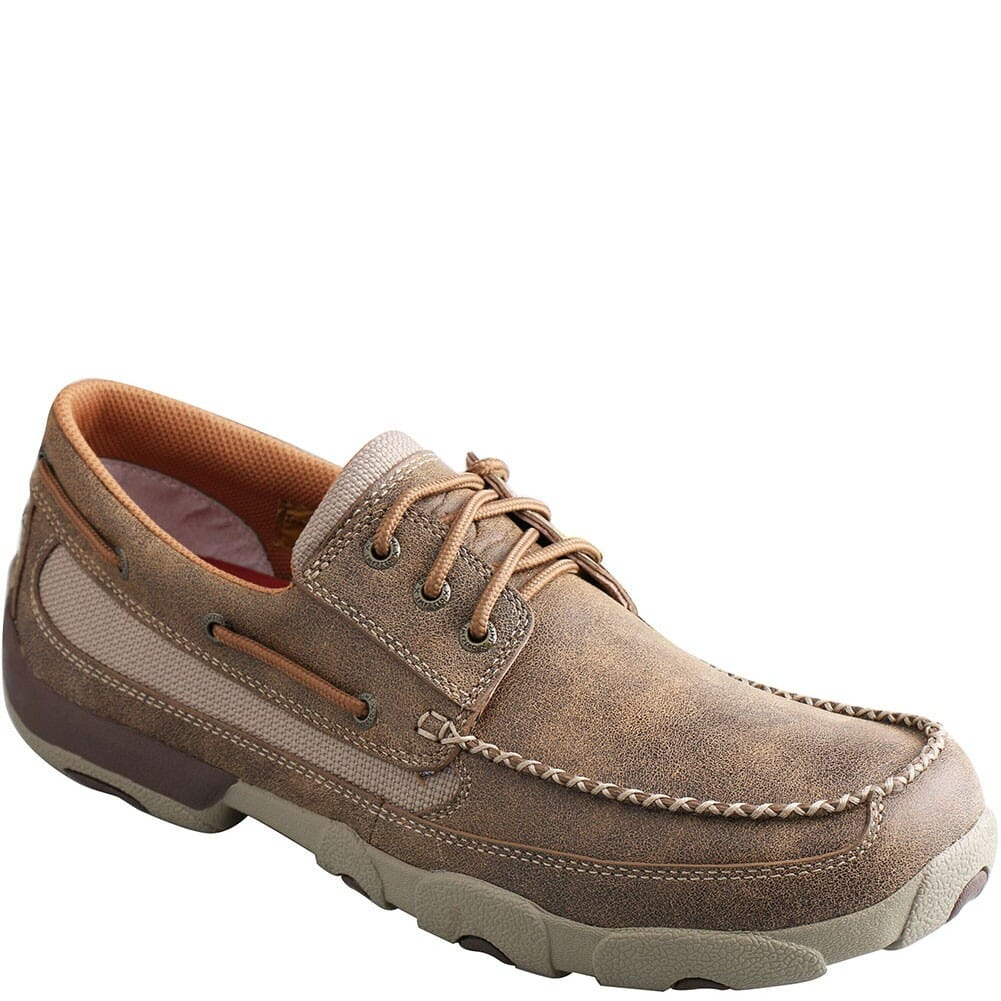 Image for Twisted X Men's Driving Moc Casual Shoes - Bomber from bootbay