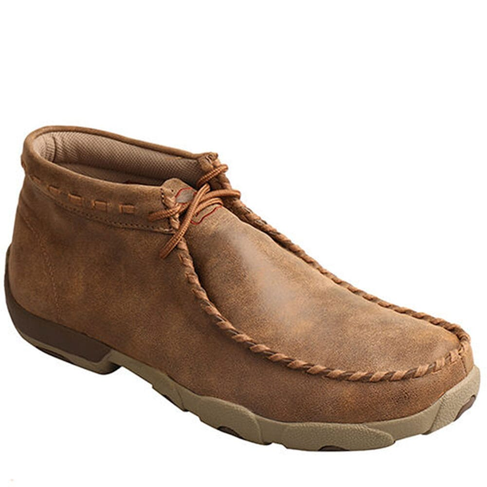 Image for Twisted X Men's Driving Moccasin Shoes - Bomber from bootbay