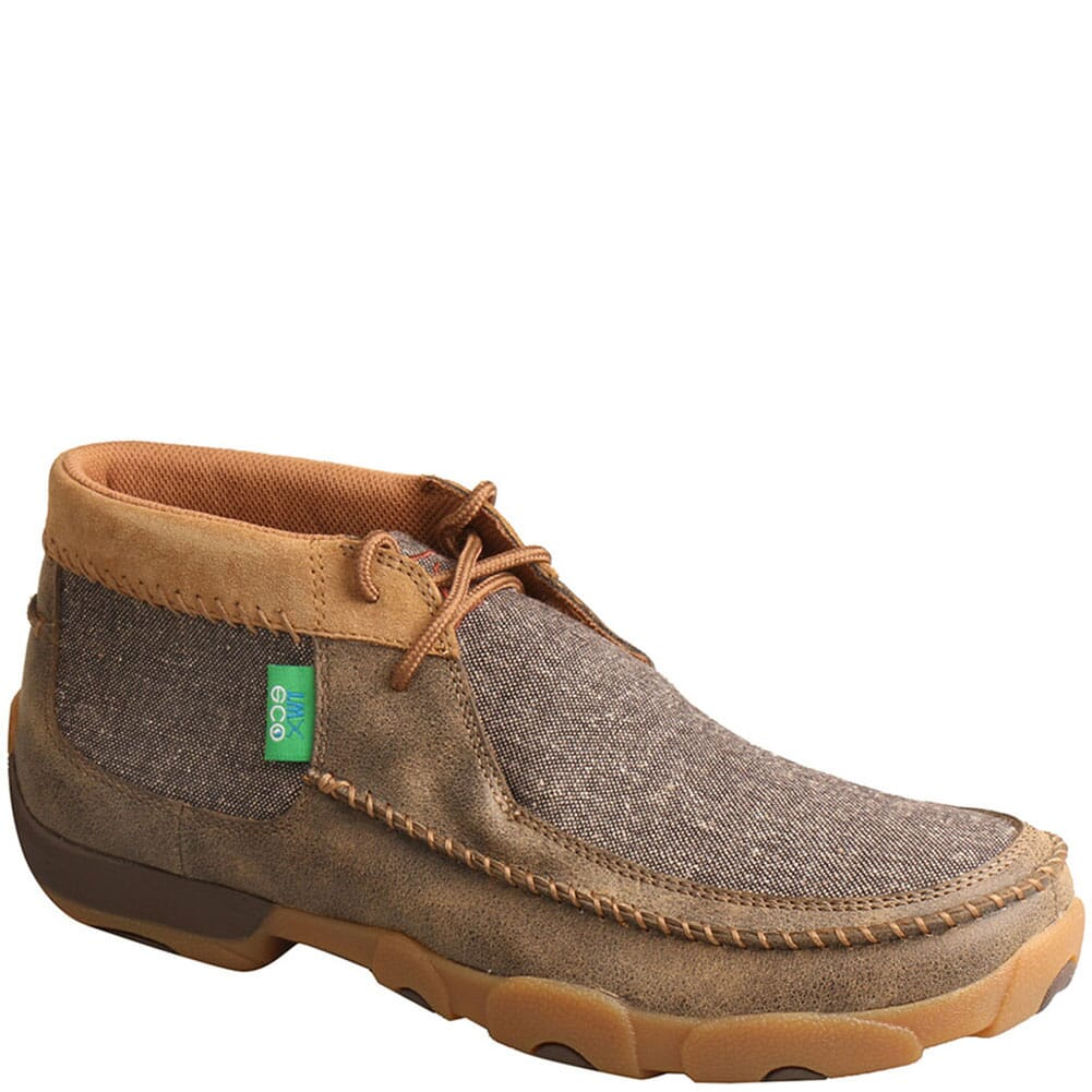 Image for Twisted X Men's Chukka Driving Moc Casual Shoes - Bomber/Dust from bootbay