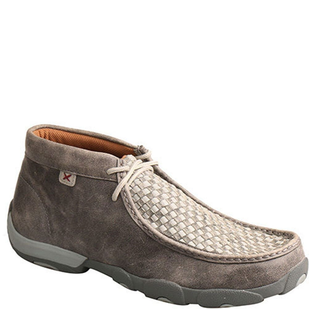 Image for Twisted X Men's Driving Moccasins - Grey from bootbay