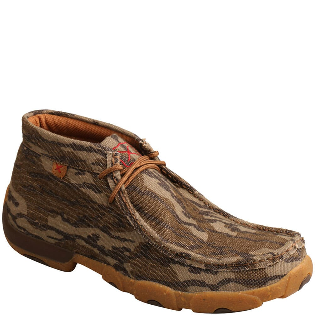Image for Twisted X Men's Mossy Oak Casual Chukka Driving Moc - Camo from bootbay