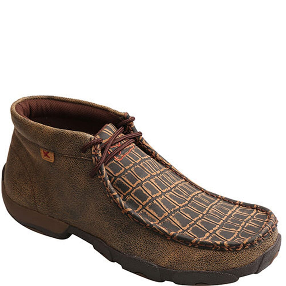 Image for Twisted X Men's Driving Safety Moccasins - Cayman Print from bootbay