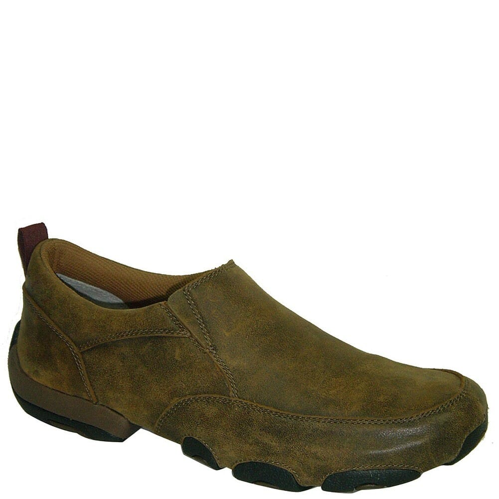 Image for Twisted X Men's Driving Moc Slipon Casual Shoes - Bomber from bootbay