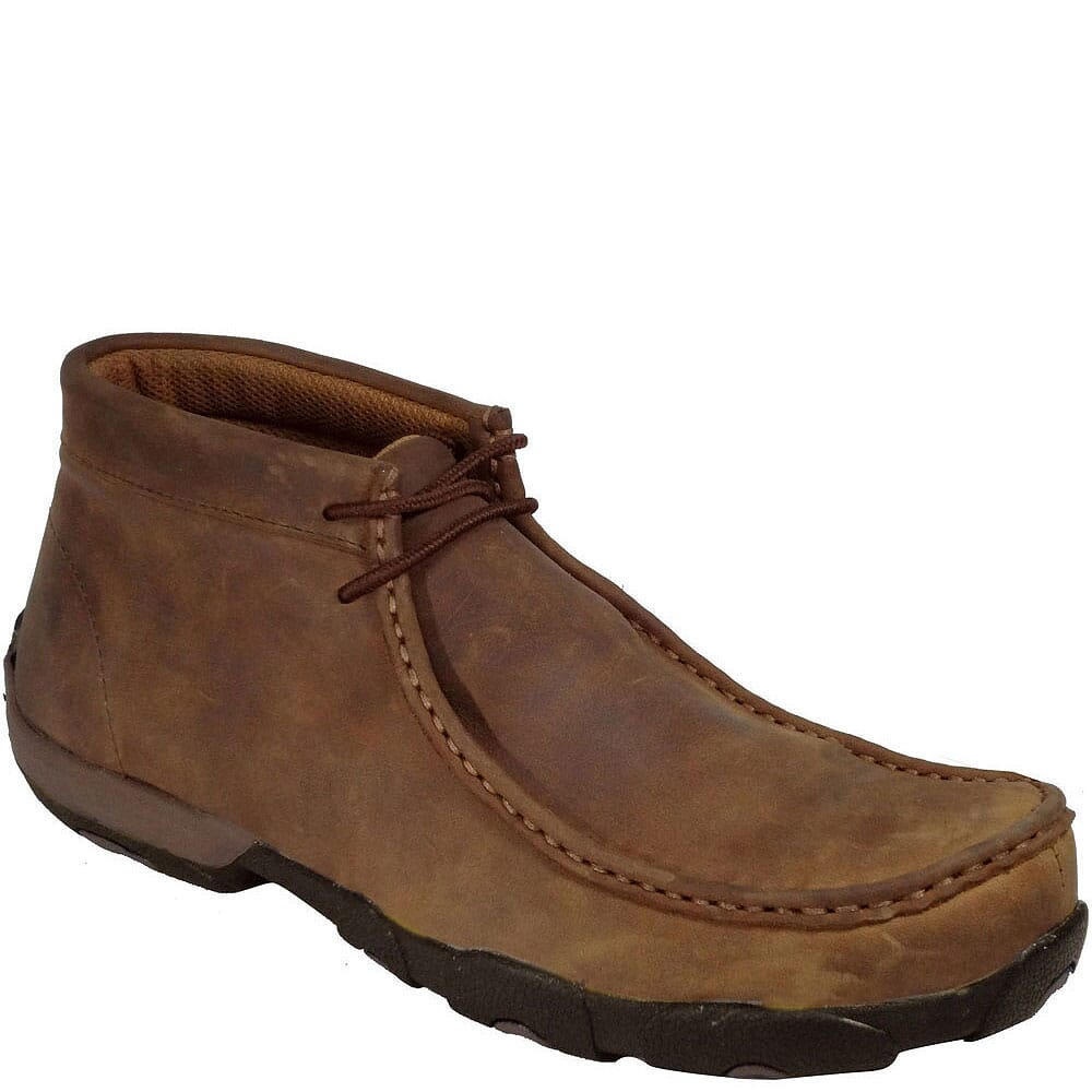Image for Twisted X Men's Driving Moc Safety Shoes - Saddle from bootbay