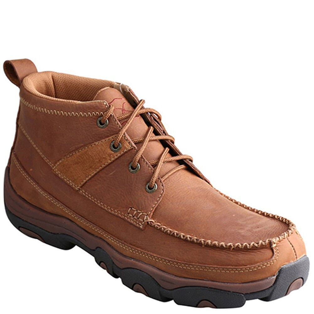 Image for Twisted X Men's Lace-Up Hiking Shoes - Brown from bootbay