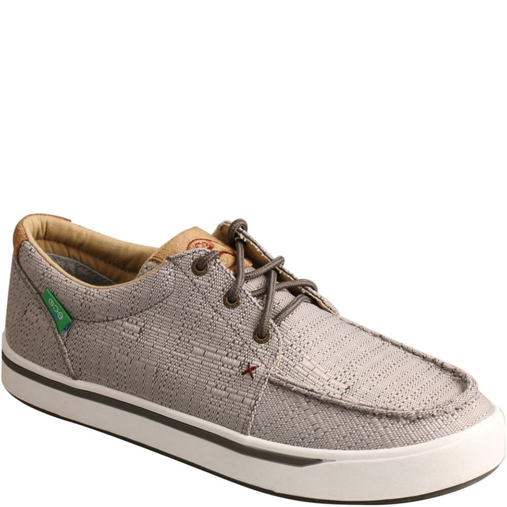 Image for Twisted X Men's Hooey Loper Casual Shoes - Light Grey from bootbay