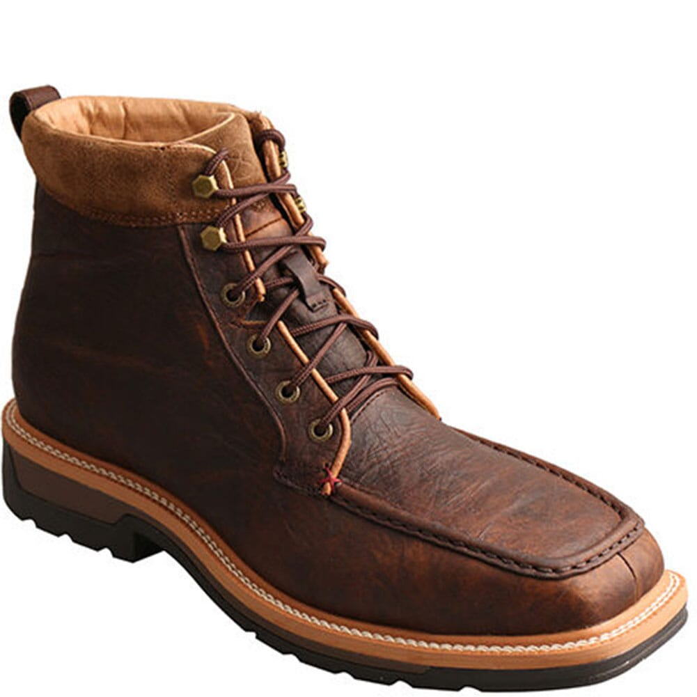 Image for Twisted X Men's Lite Cowboy Safety Boots - Dark Brown from bootbay