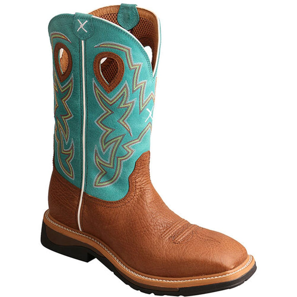 Image for Twisted X Men's Lite Cowboy Safety Boots - Cognac from bootbay