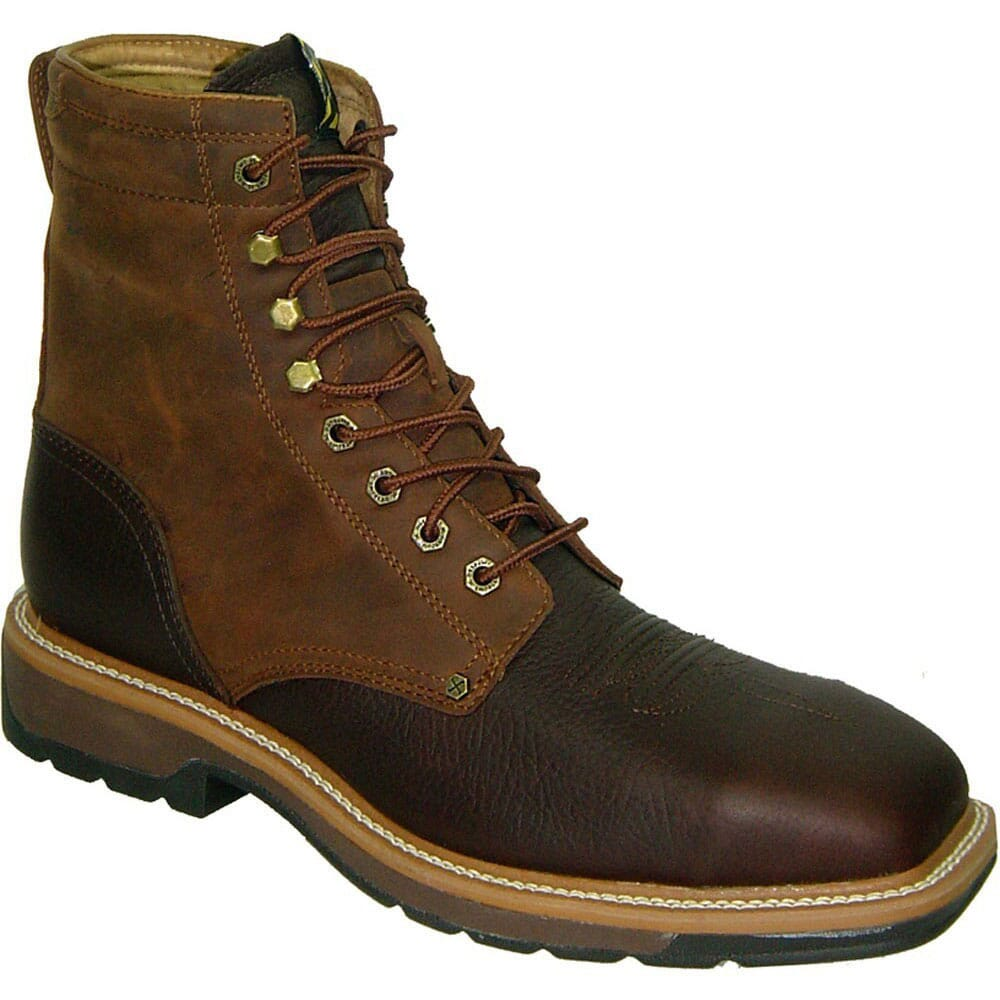 Image for Twisted X Men's Lite Cowboy WP Safety Lacers - Brown from bootbay