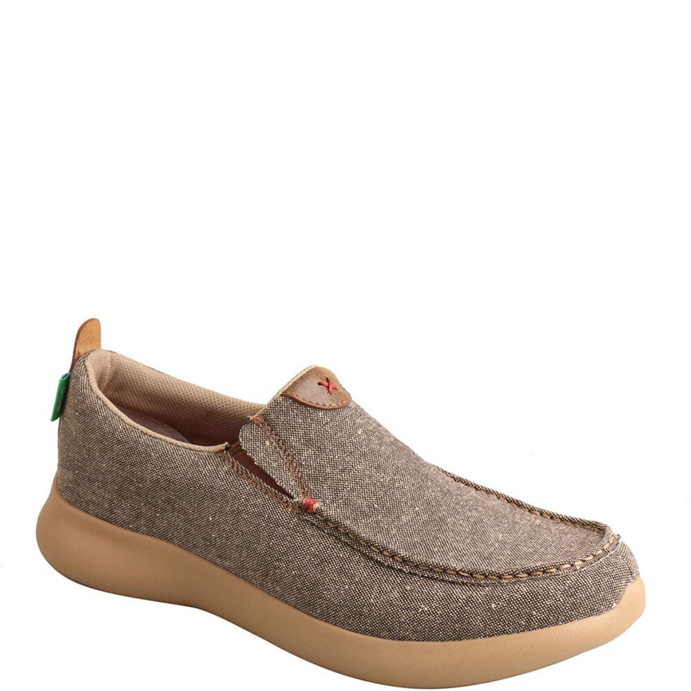 Image for Twisted X Men's Slip-On EVA12R Casual Shoes - Dust from bootbay
