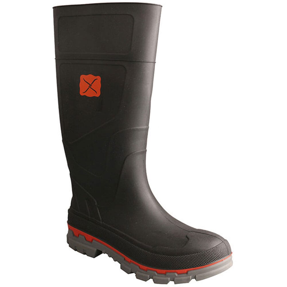 Image for Twisted X Men's Mud Rubber Boots - Black from bootbay