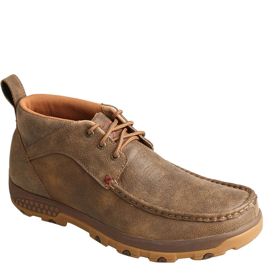 Image for Twisted X Men's CellStretch Driving Moc Casual Chukka - Bomber from bootbay